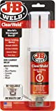 J-B Weld 50112 ClearWeld 5 Minute Set Epoxy Syringe - Clear - 25 ml