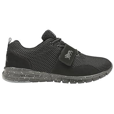 435a0fe1c4b Lonsdale Men's Lace-Up Flats Black Size: 12 UK: Amazon.co.uk: Shoes ...