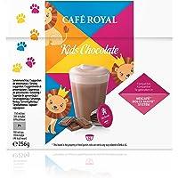 Café Royal Kids Chocolate Nouvelle Génération- 48 dosettes Compatibles avec le Système NESCAFE®* Dolce Gusto®* (Lot de 3X16)