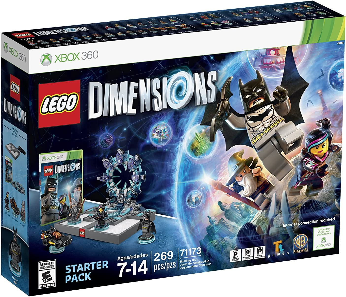 amazon com lego dimensions starter pack xbox 360 whv games