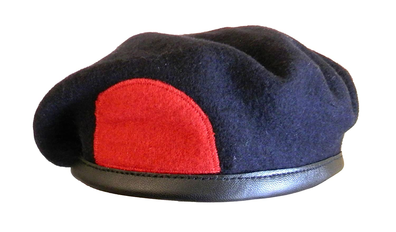 Royal Marine Navy Blue Beret with Patch