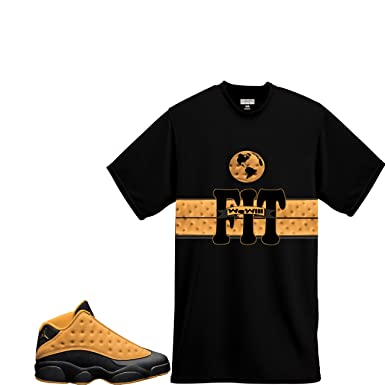 eabb1887aa43d5 We Will Fit Shirt To Match Retro Jordan 13 XIII Chutney Low (Small)
