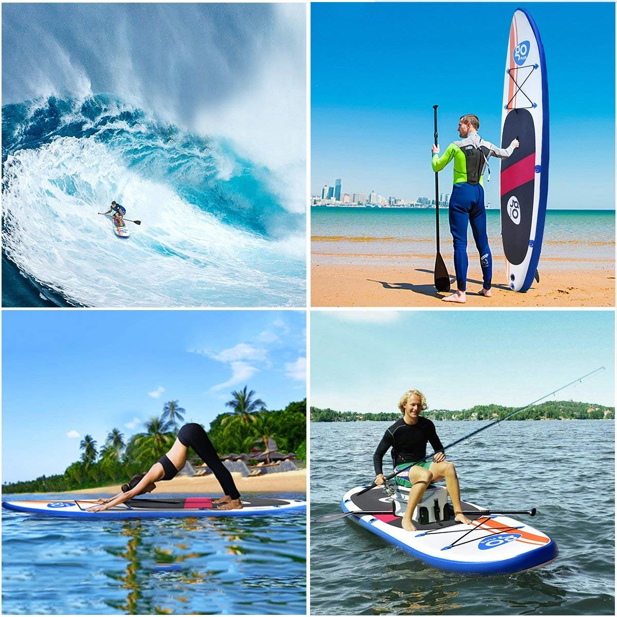 COSTWAY Tablas Paddle Board Hinchables Remo Surf Tablero Sup Board Stand Up Set 300 15cm Inflable 76