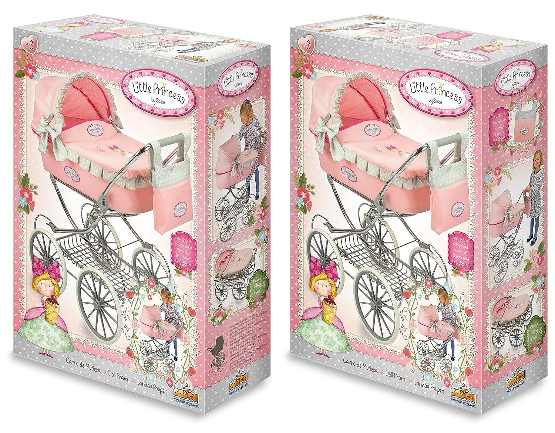 Mu/ñecas Saica 9298 Classic Doll Pram