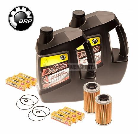 Mar Doo – 4 TEC cambio de aceite kit w/filtro o anillos & Bujías