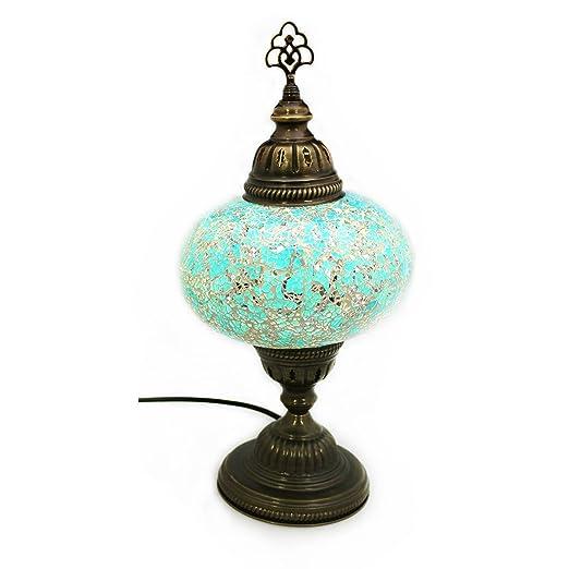 Lámpara de pie mosaico auxiliar lámpara lámpara de mesa de ...