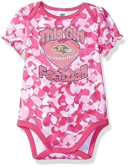 Amazon.com   NFL Heart Camo Bodysuit   Sports   Outdoors 8b033d147
