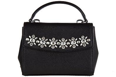 d609fe9b107c Michael Kors Ava Jewel Extra Small Crossbody in Black  Handbags ...