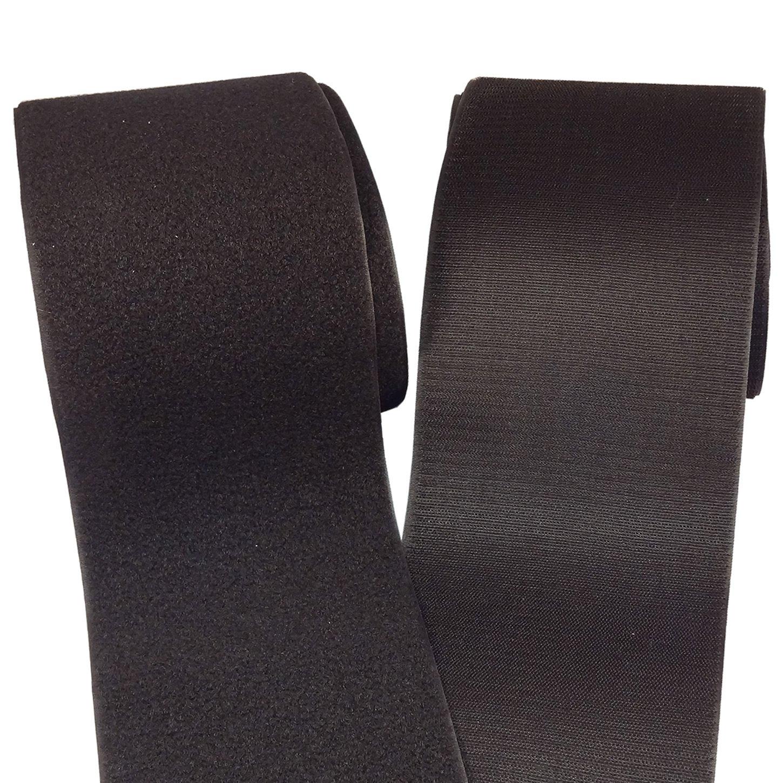 BlueDot Trading,Hook & Loop Fastener Sew On Black, 6 Wide, 1 Foot Length Blue Dot Trading black-6inch-x1foot