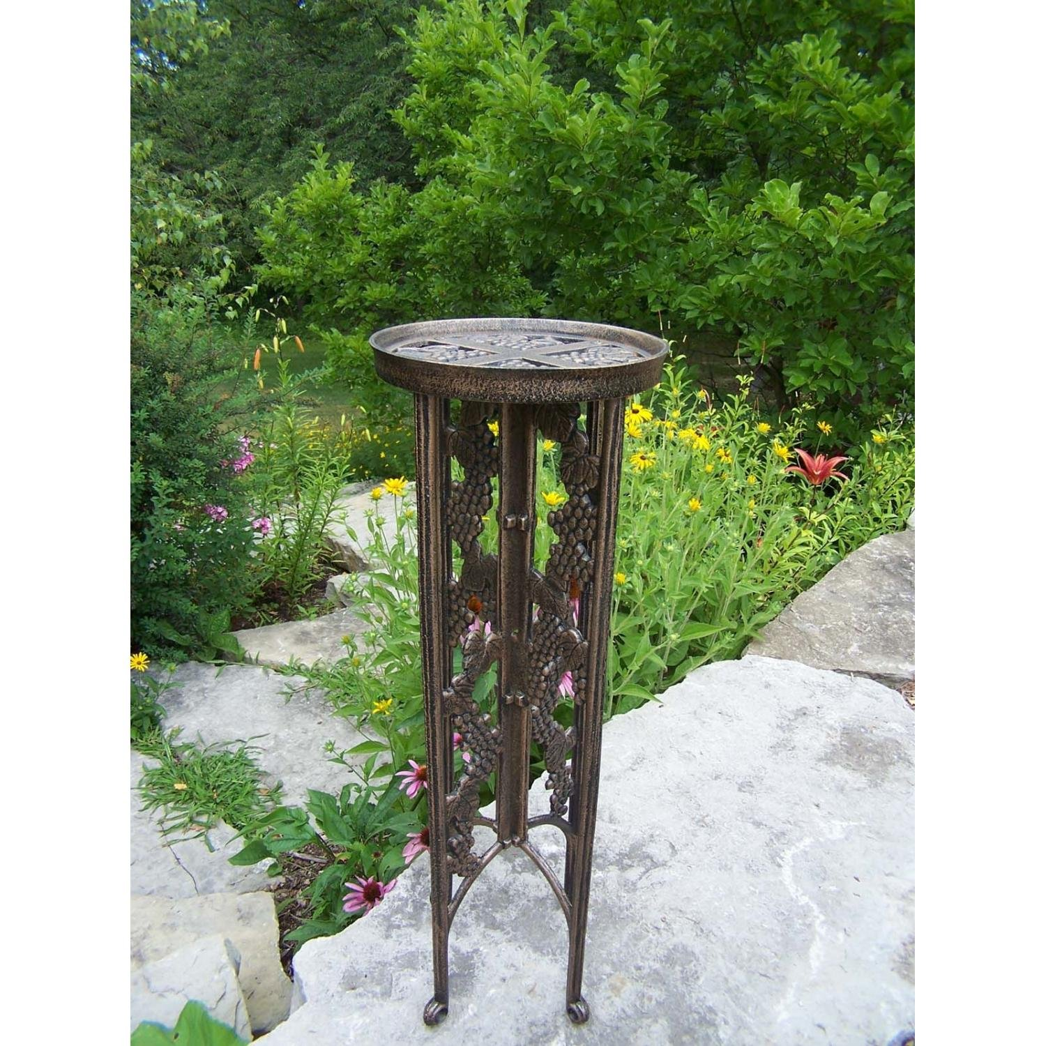Oakland Living Grape Interlocking Plant Stand, Antique Bronze by Oakland Living