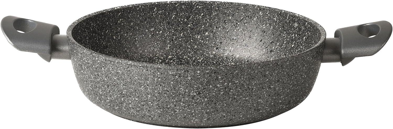 2 maniglie 28 cm TVS Mineralia Pro Tegame antiaderente