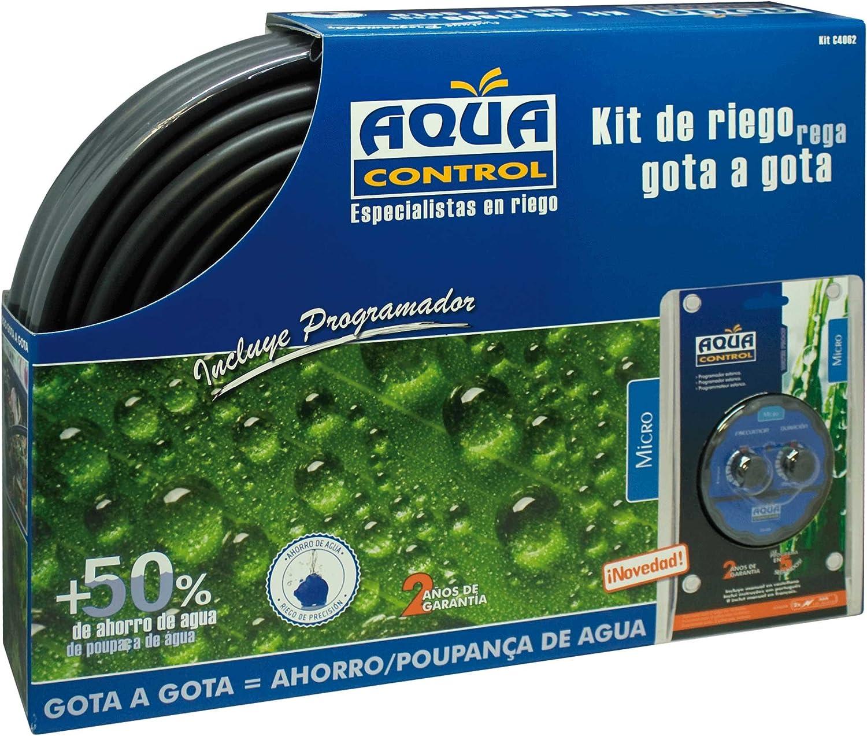 Aqua Control C4062 - Kit de riego gota a gota con programador ...