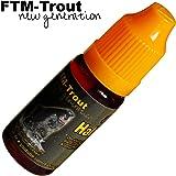 FTM Halibut 10ml - Fischlockstoff zum Angeln, Lockstoff für Raubfische, Forellen & Friedfische, Lockmittel für Fische