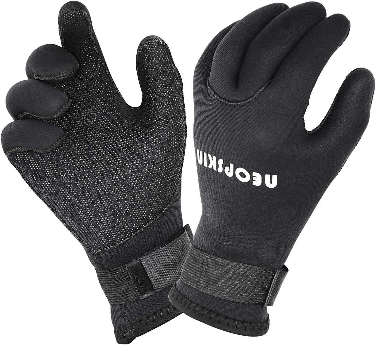 3MM Neoprene Wetsuit Black Gloves Diving Swim Scuba Surf Snorkeling Cold-proof