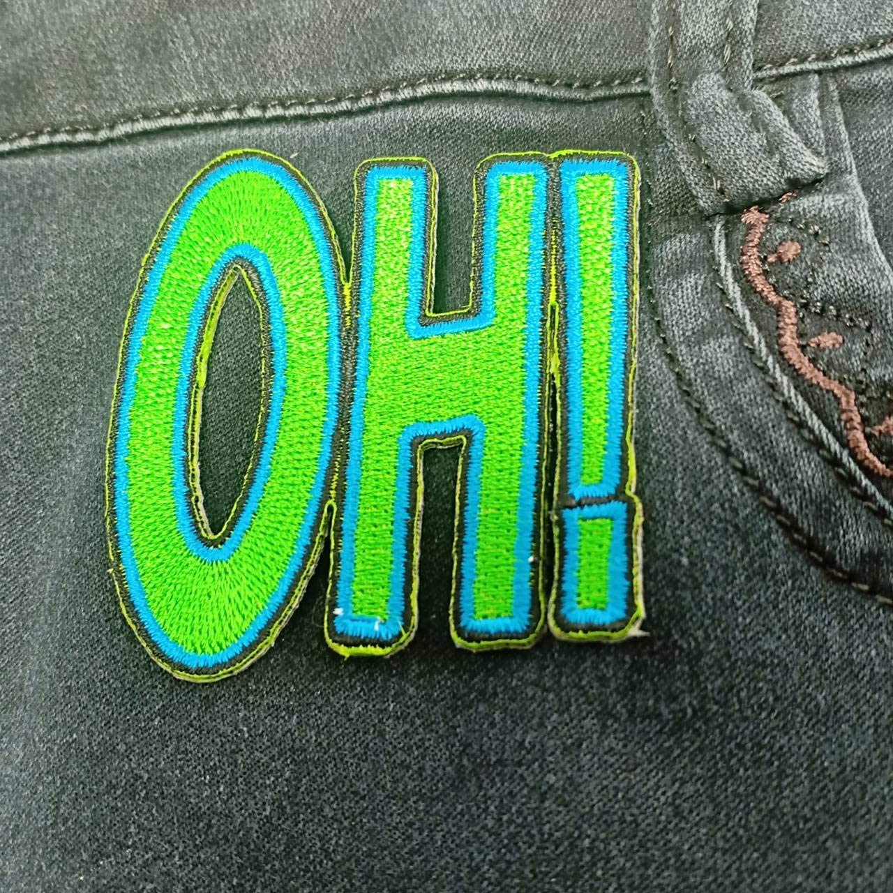 Patches Embroidered Iron Green On Sew Patch for Teen Men Women shirt biker jacket Iron applique Cheetah iron-on patch Hippie Retro Love Applique Biker Punk Shirt For jeans Heavens Tvcz OH hats bags