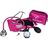 Dixie Ems Blood Pressure and Dual Head Stethoscope Kit (Pink)