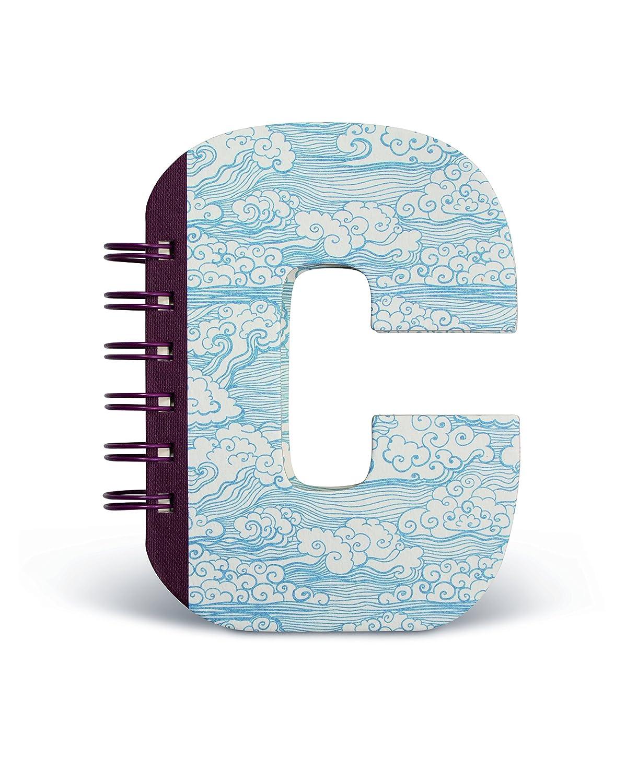 IF Alphabook C Quaderni a Forma di Lettera, Carta, Multicolore, 14x3x19 cm 5035393326036