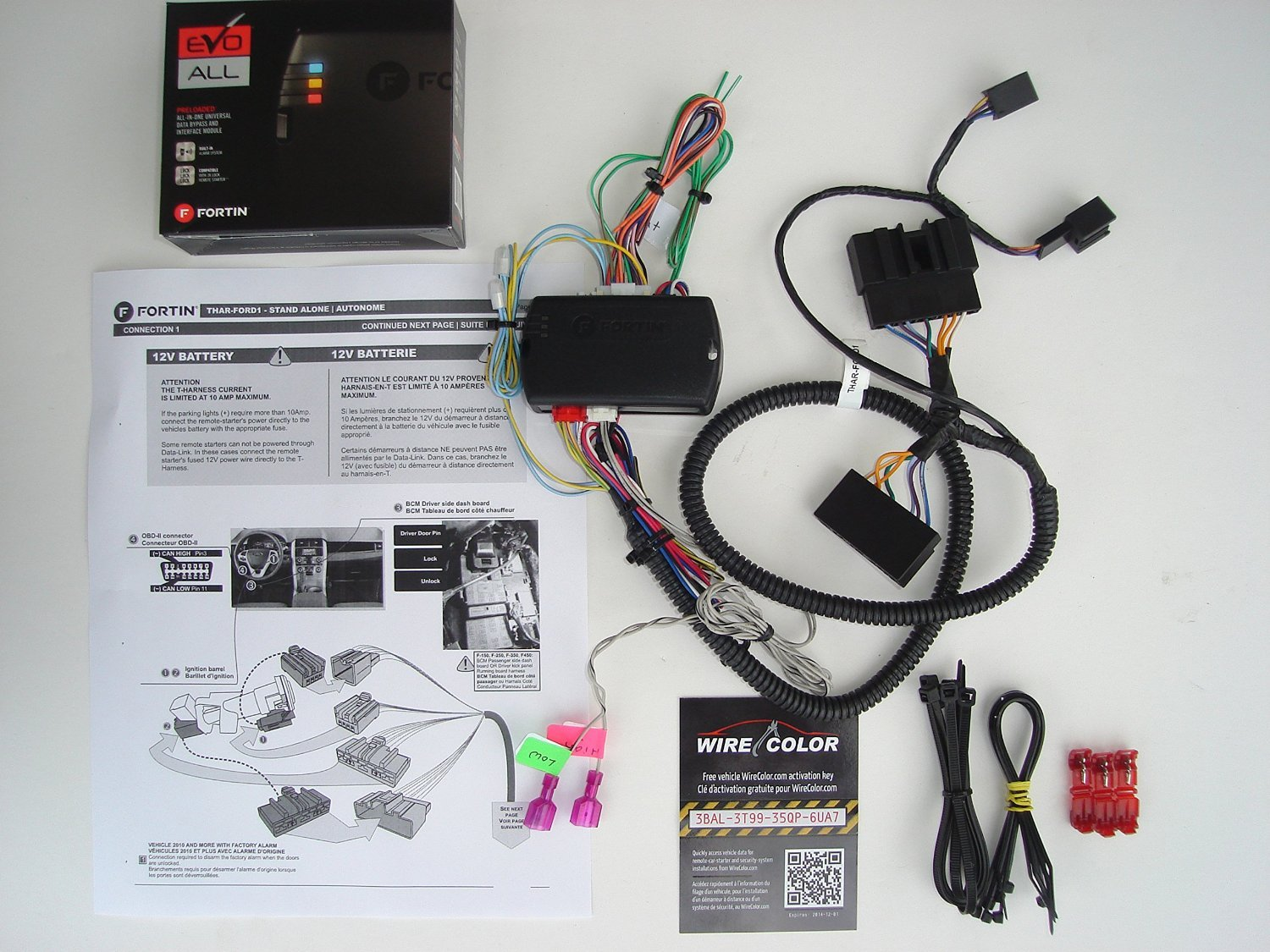Factory Oem Remote Activated Plug And Play Start Wiring Diagrams In Addition Home Electrical Outlet For Select 2008 2014 Ford Cell Phones Accessories