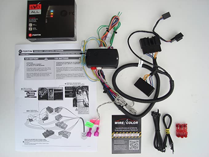 Factory Oem Remote Activated Plug And Play Start For Select 20082014 Ford: Ford Fusion Alarm Wiring Diagram At Kopipes.co