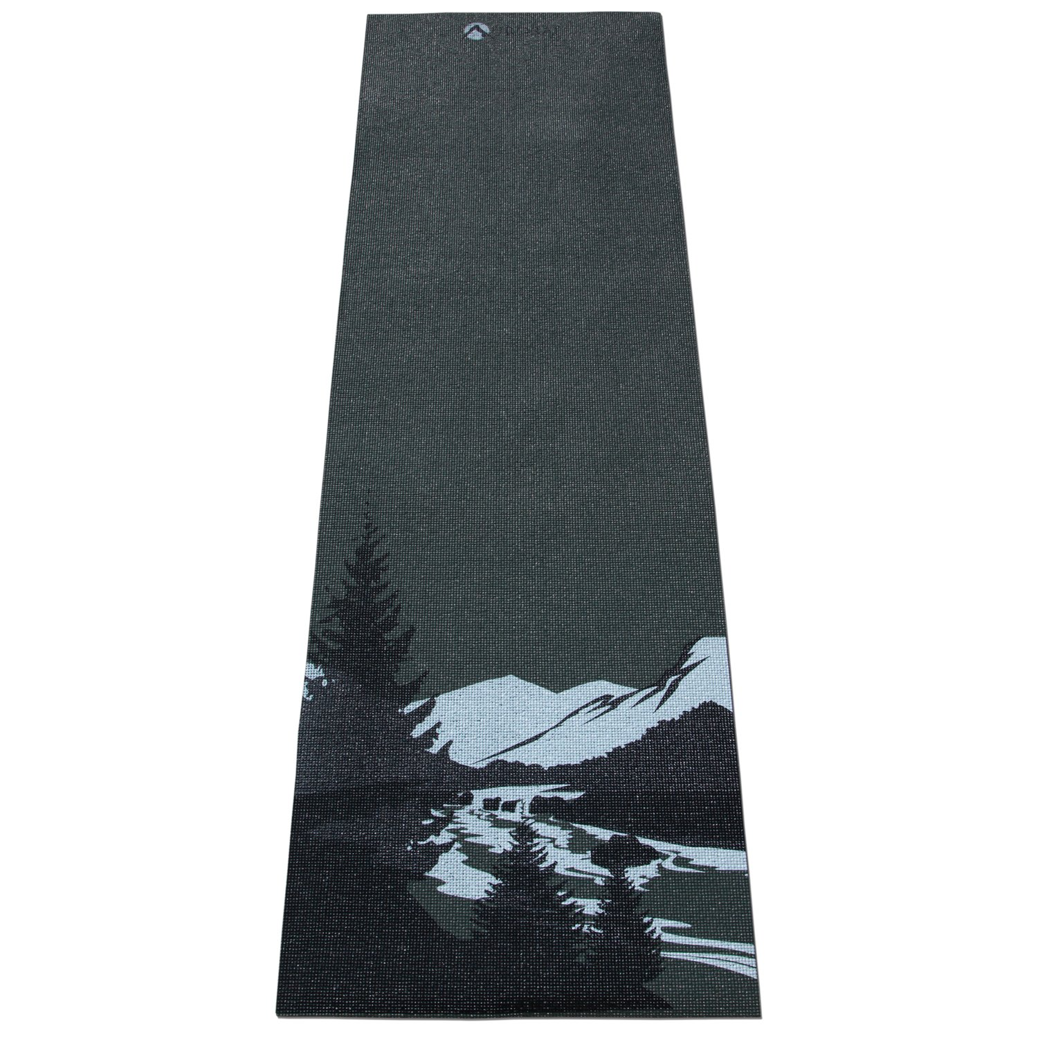 Aurorae Classic Printed Extra Thick and Long 72 Premium Eco Safe Yoga Mat with Non Slip Rosin Included