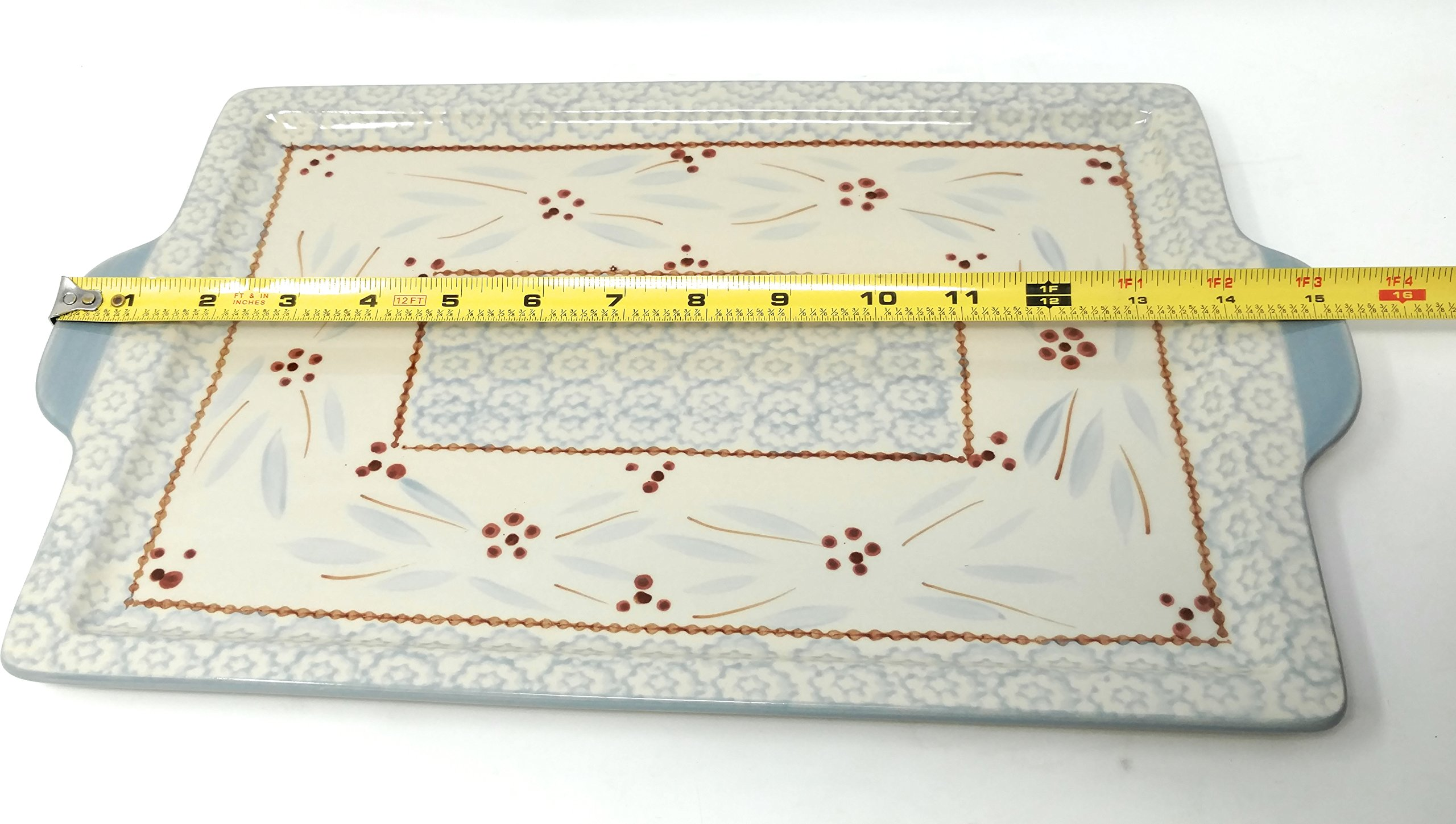 Temp-tations 13''x9'' Cookie Sheet, Platter, Tray or Replacement Lid-It (Old World Fireworkfetti) by Temptations (Image #3)