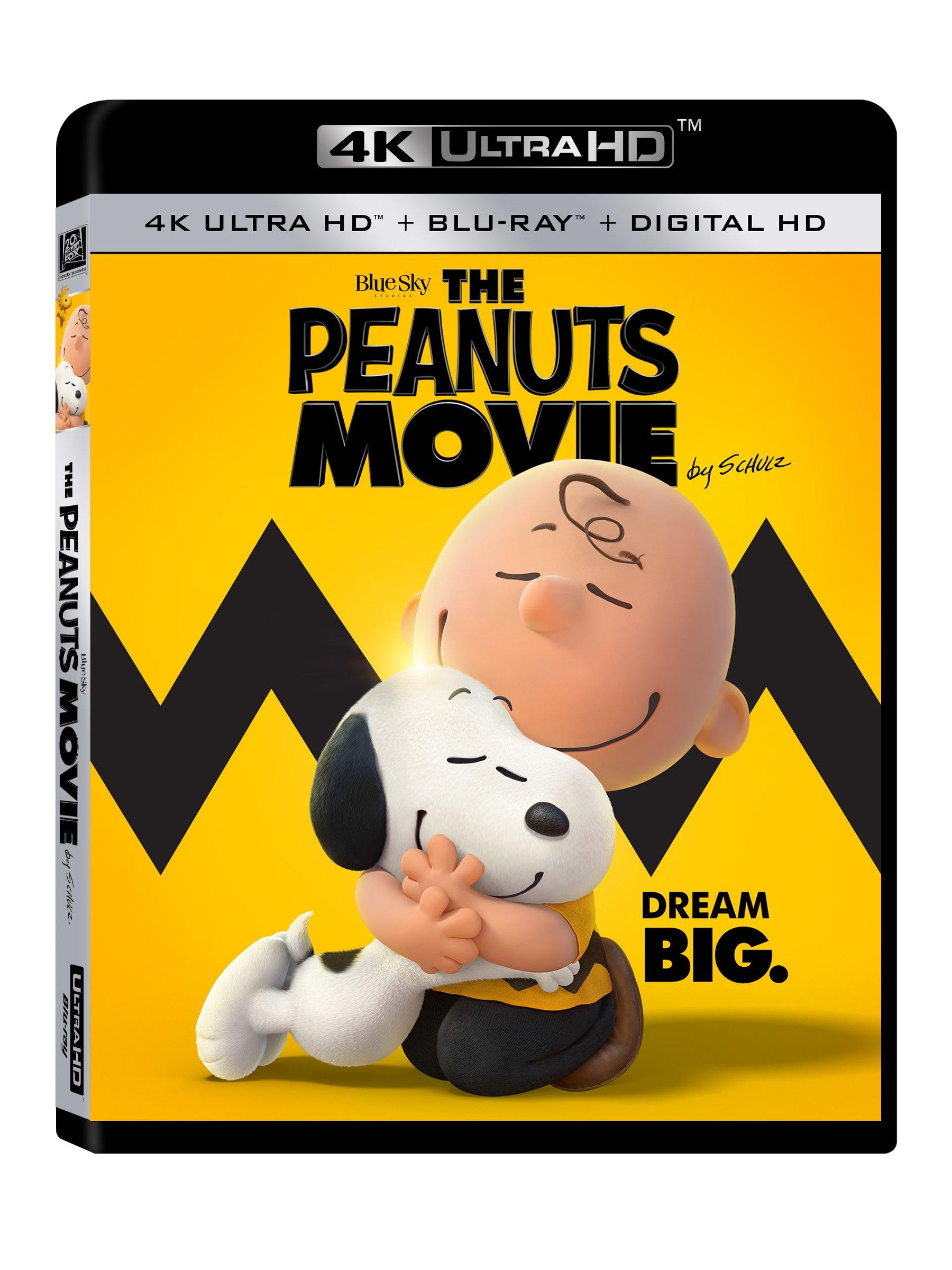 4K Blu-ray : The Peanuts Movie (Ultra HD)