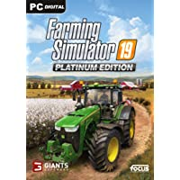 Farming Simulator 19 - Platinum Edition - [PC/Mac Online Game Code]