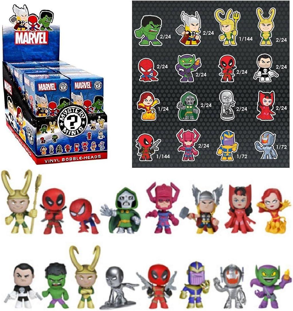 Funko Marvel Mystery Mini Vinyl Figure Display Box (Case of 12) by FunKo: Amazon.es: Juguetes y juegos