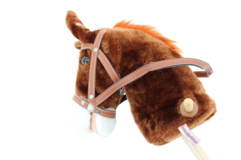 Sweety Toys 5079 Steckenpferd PRINCETON mit Funktion Galopp Sweety-Toys Pferde