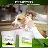 MedPal Professional Pet Ear Cleansing Wipes for