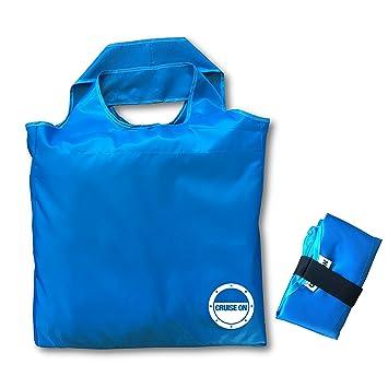 Amazon.com: Bolsa de bolsa de playa plegable: CruiseOn