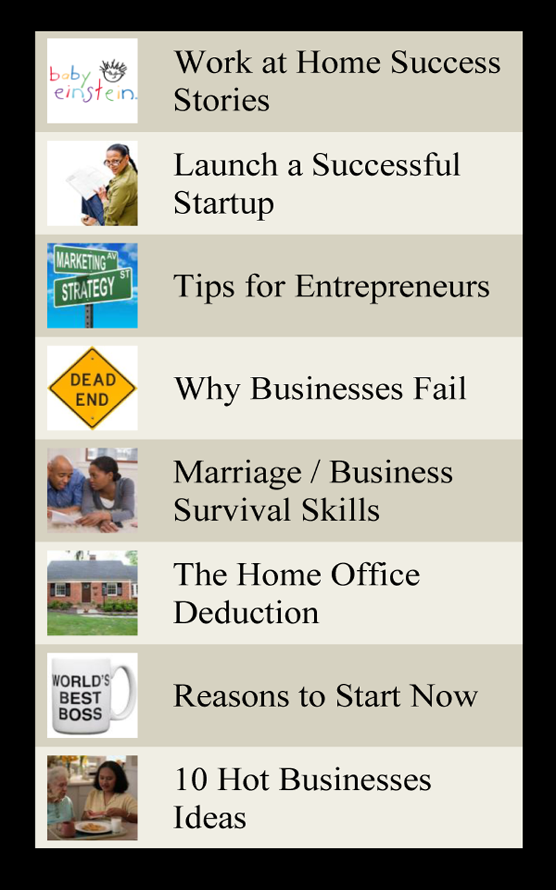 Amazon.com: Self Improvement Ideas - Home Business: Appstore for Android
