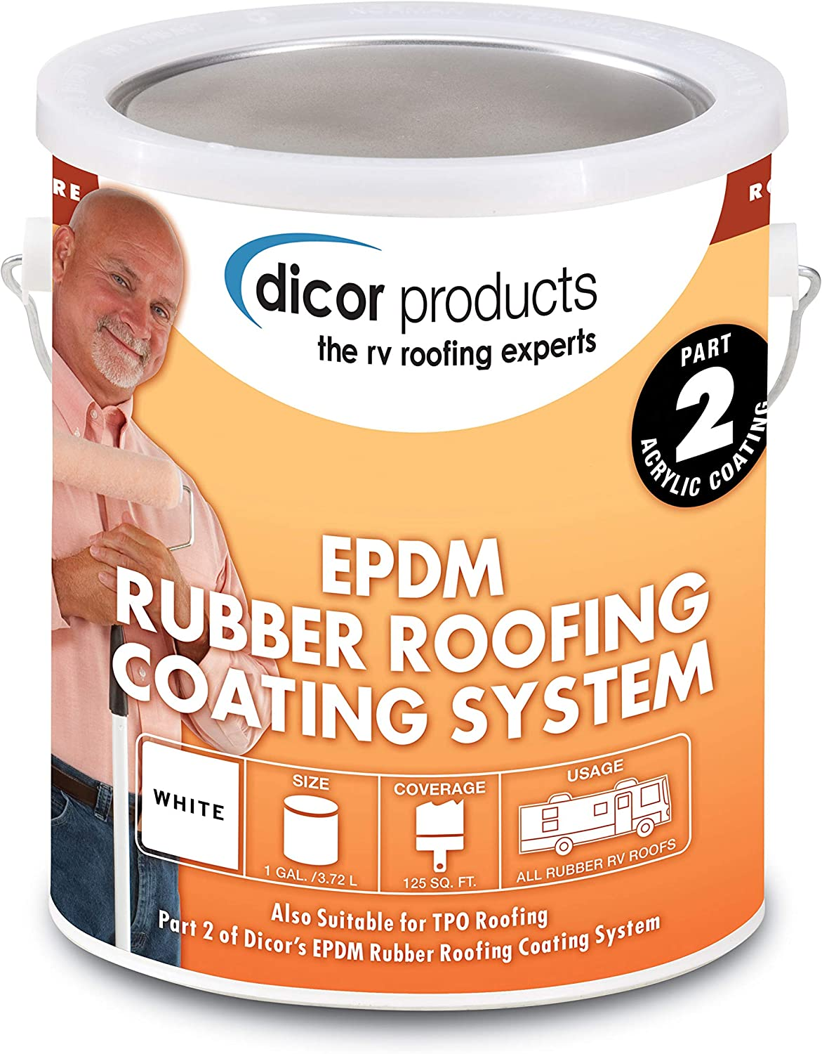 Dicor Rubber Roof Coating