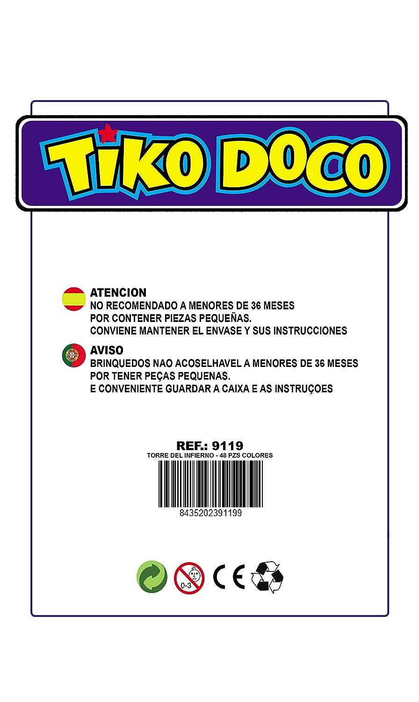 Juegos InfiernoAmazon Torre Y La Del esJuguetes nwk80OP