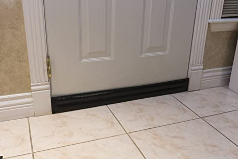 Soundproof Door Pads. Stop Sound, Drafts And Reduce Heat Loss Through Gaps  Along Bottom