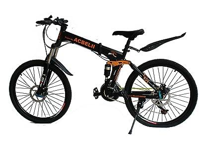 Buy GoGoA1 ACBELLI 26 inch High Carbon Steel Frame Mountain Bike ...