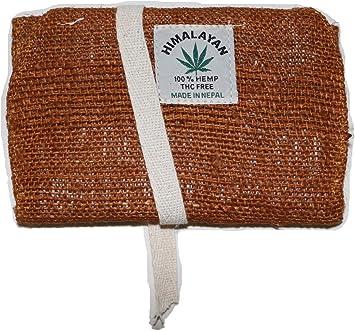 Bolsa de Tabaco/Bolsillo para Tabaco rotatorio/tabaquera/Estuche de Tabaco de Liar – Hecha de Fibra de cáñamo, Hecha a Mano en Nepal – Color: marrón: Amazon.es: Equipaje