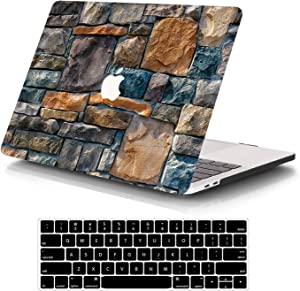 SAYA Laptop Case MacBook Pro 13 Inch Case 2020-2016 Release A2289/A2251/A2159/A1989/A1708/A1706 Plstic Hard Shell Case & Keyboard Cover Only Compatible MacBook Pro 13 Inch Touch Bar