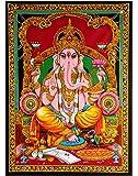 RAJRANG BRINGING RAJASTHAN TO YOU Indian Ganesh Tapestry - Spiritual Tapiz Religioso Lord Ganesh Wall Hanging Pared…