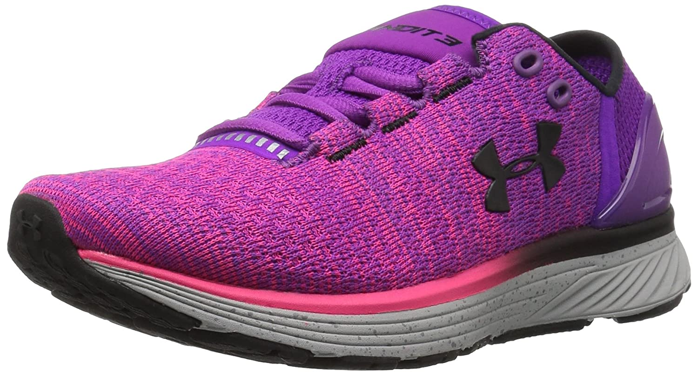 Under Armour UA W Charged Bandit 3, Zapatillas de Running para Mujer 39 EU|Morado (Purple Rave)