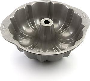 USA Pan 1087FT Bakeware Nonstick Fluted Tube Cake Pan, 10-Inch, Aluminized Steel