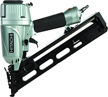 #6 Hitachi NT65MA4 1-1-4 Inch to 2-1-2 Inch 15-Gauge Angled Finish Nailer with Air Duster
