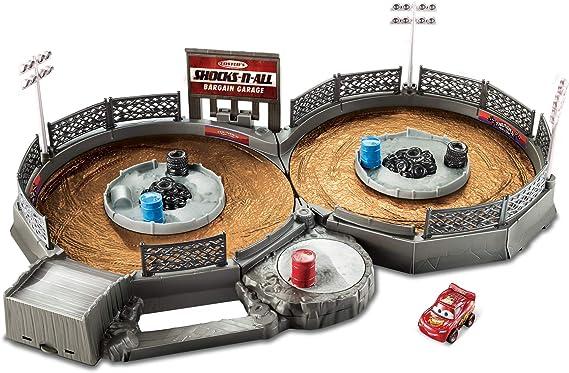 Disney Pixar Cars Mini Racers Crank & Crash Derby Playset
