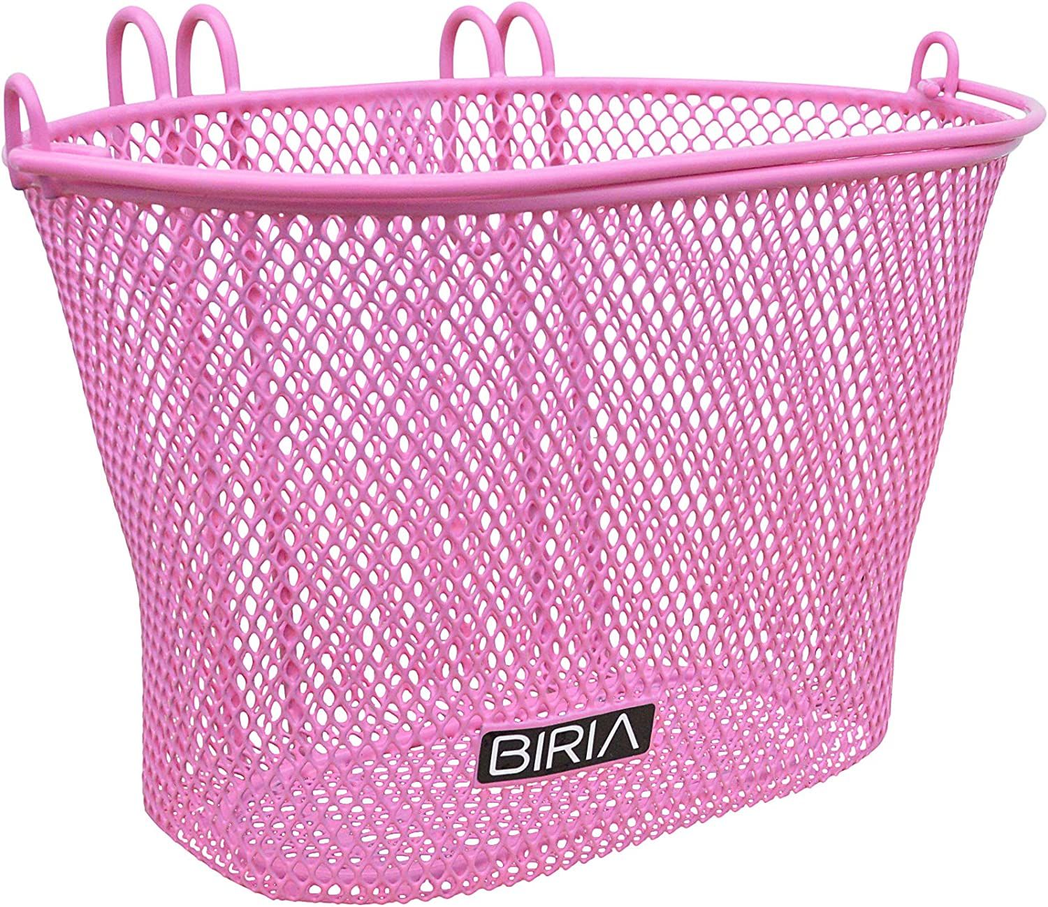 Mesh Cycling Shopping Basket Carry Handle Hook On