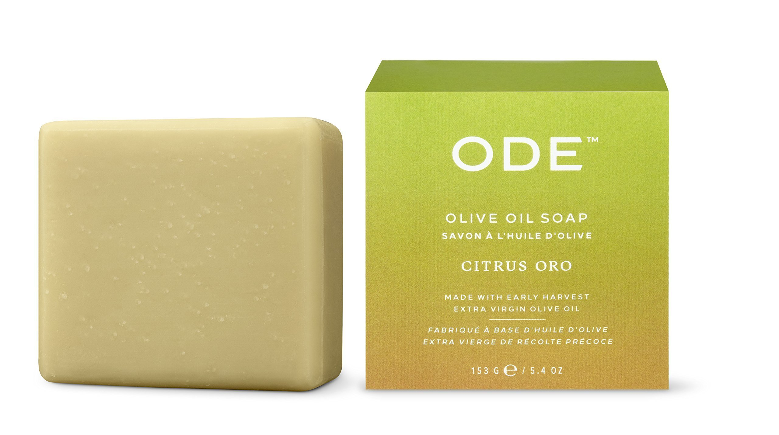 ODE natural beauty - Citrus Oro Olive Oil Soap