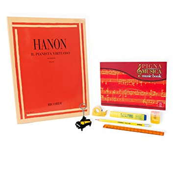 Hanon - El Planista Virtuoso 60 ejercicios - Kit de ...