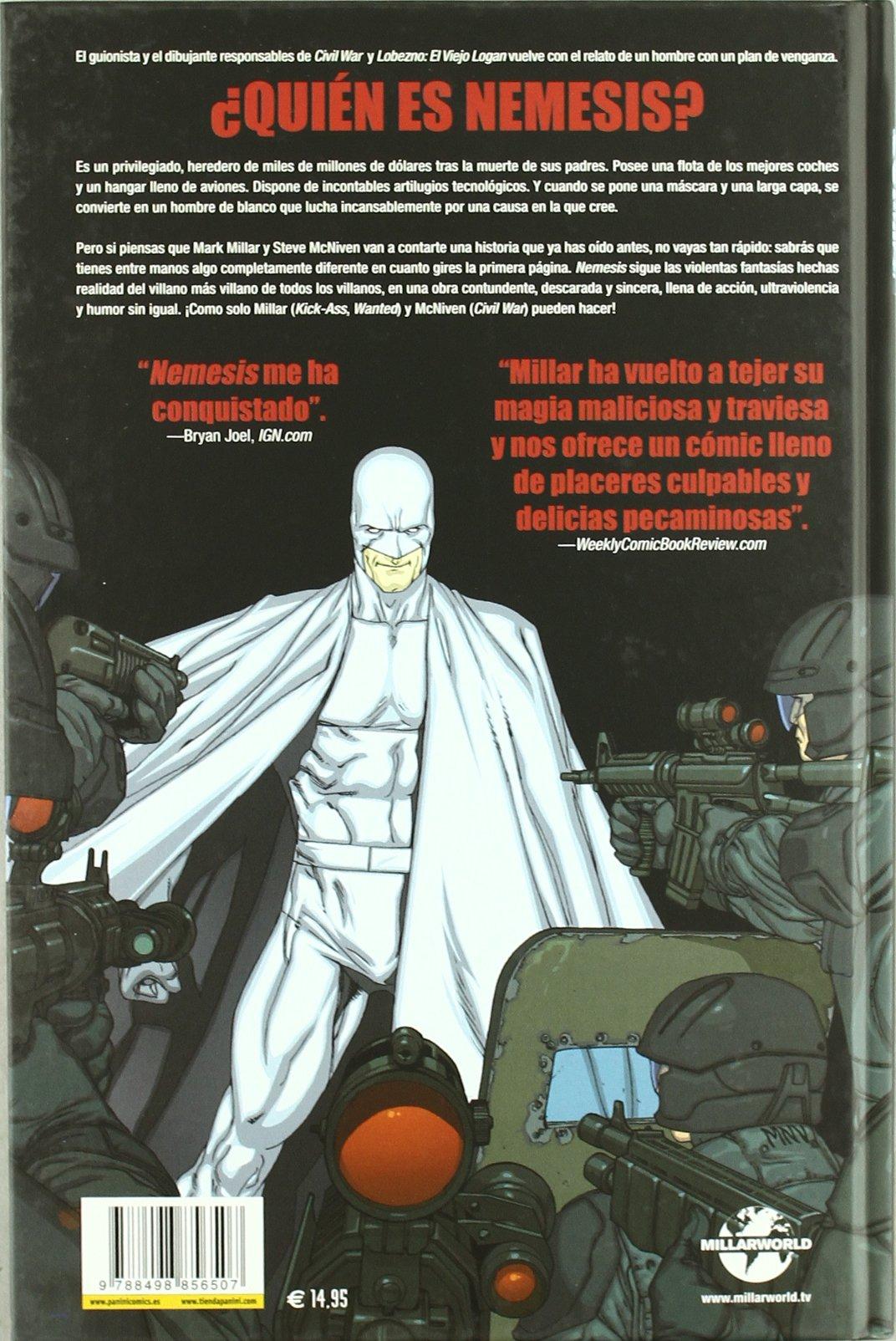 Nemesis: Mark (1969-) , McNiven, Steve Millar: 9788498856507: Amazon.com: Books
