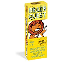 Brain Quest Kindergarten, Revised 4th Edition: 300 Questions and Answers to Get...