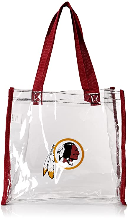 Image Unavailable. Image not available for. Color  Washington Redskins  Clear Reusable Bag c82488eda