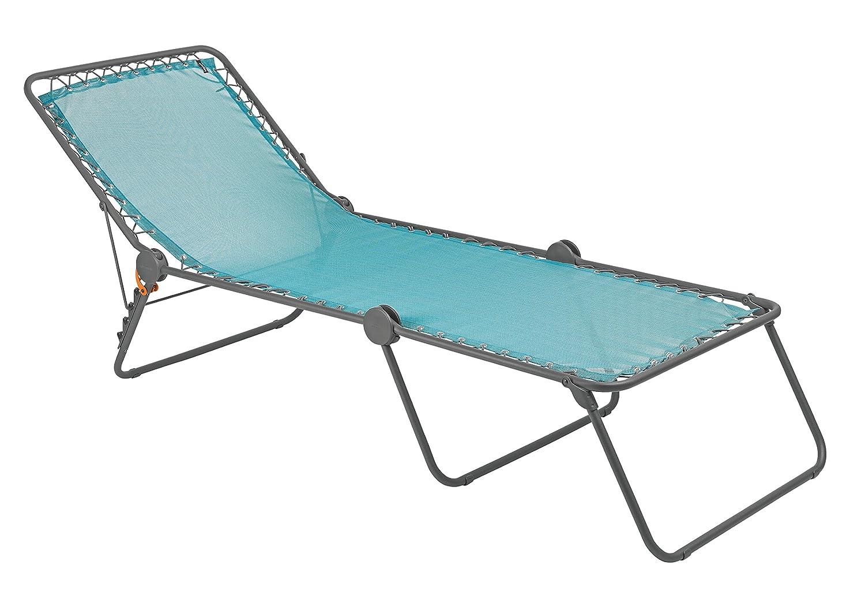 Sedia A Sdraio Classica Lafuma : Lafuma mobilier lfm sedia a sdraio siesta l blu